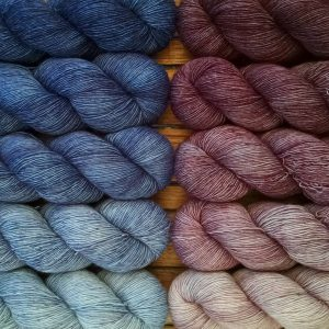Gradient yarns
